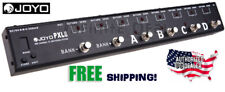 JOYO PXL8 Programable 8- Channel Looper Control Station FX Pedal Switcher