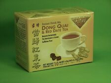 Dong Quai Angelica&Red Date Instant Tea Female Blood Sugar Menopause 10bags$4.25