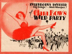 Wild Party Original Movie Herald from the 1929 Movie