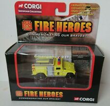 More details for corgi cs90233 fire heroes hmmwv fire pumper chicago o'hare airport new