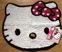 """Hello Kitty Adorable Bath Rug 100% Cotton 22"""" x 26"""""""