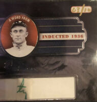 """2019 A Word From Ty Cobb Authentic Handwriting Cut """"ty"""" RARE! Jackpot! #3 Of 10!"""