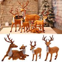 Festa di Natale Cervi renne Craft Elk Natale casa albero Decor ornamento aliment