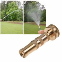 Garden Irrigation Spray Gun Adjustable Brass Sprinkler Car Wash lawn Watering