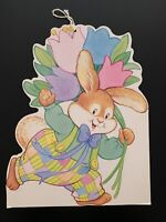 Vintage Double-Sided Easter Decoration