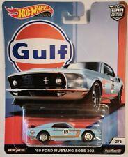 Hot Wheels 1:64 '69 Ford Mustang Boss 302 Car Model - FPY86