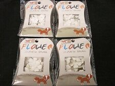 80pc Small Paper Flowers Invitation Card Making Craft Gift Wedding FREE POSTAGE