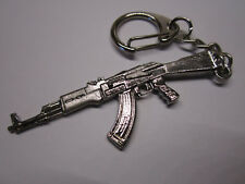 Ak47 Metal Gun Rifle Keychain Army Military Keyring Jewelry Pendant GIFT