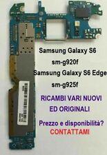 Parti ricambio Samsung Galaxy S6 SM-G920F ed S6 Edge SM-G925F contattare x Info
