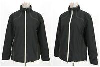 Womens Galvin Green Golf Jacket Gore-Tex Full Zip Nylon Black Wind Stop Size L