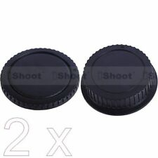 2 New Type Protector Body Cover Rear Cap for Canon EOS DSLR Camera EF EF-S Lens