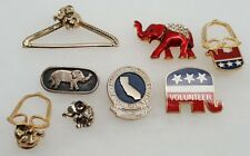 Republican Campaign Jewelry & Pins Souvenirs (8)