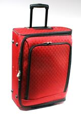 "Joy Mangano Luggage Piece with Wheels Telescoping Handle 23""x17""x9"" Good Zippers"