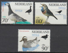 Niederlande 1994 ** Mi.1501/03 A Vögel Birds Tiere Animals Gans Ente [st2929]