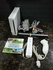 Nintendo Wii Sports Console Bundle Wii Sports Game RVL-001 Gamecube Compatible