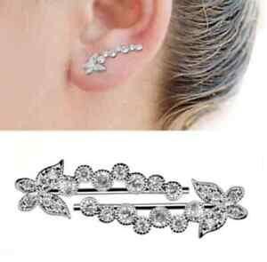 Ohrringe Schmetterling Silber 925 Paar mit zirkonia Top