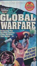 WWF Global Warfare Coliseum VHS Video NEW FACTORY SEALED Bret Hart WWE