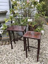 More details for hand painted oriental tables x 2