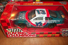 JERRY NADEAU AUTOGRAPHED #13 FIRSTPLUS 1:24 SCALE 50th RACING CHAMPION (42
