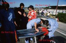 Niki Lauda & Ferrari Mauro Forghieri Francés Grand Prix 1977 fotografía 2