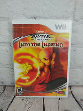 Avatar Last Airbender Into the Inferno (Nintendo Wii, 2008) Video Game Complete