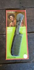 Vintage Cornell Afro Comb #105 New Old Stock 70s.