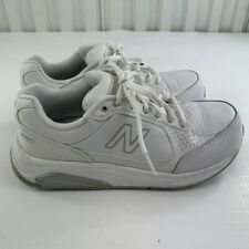 New Balance Womens 928 V3 WW928WB3 White Running Shoes Lace Up Low Top Size 9