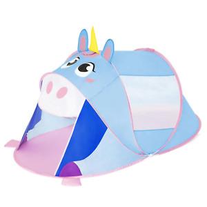 Bestway® Pop-Up-Zelt für Kinder, Einhorn,Tunnel Krabbeltunnel 182x96x81 cm 68110