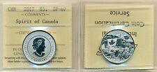 "2017 Canada $3.00 Silver Coin ""Spirit of Canada"" ICCS SP-67"