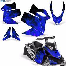 Decal Graphic Kit Ski Doo Rev XP Skidoo Sled Snowmobile Wrap Decal 08-12 ICE U