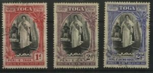TONGA 1938 20TH ANNIVERSARY OF ACCESSION (ID:243/D31443)