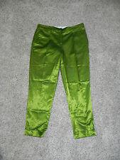 Jones New York Pants Green Size 10 Inseam 27 Womens Slim NWT $89