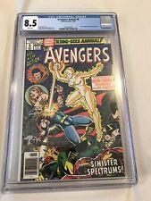 The Avengers Annual #8 CGC 8.5