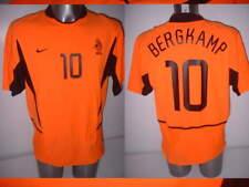 Holland Bergkamp Netherlands Nike Adult XL Shirt Jersey Football Soccer Arsenal