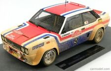 TOPMARQUES top043ad Scale 1/18 Fiat 131 Abarth N 9 Winner Rally Sanremo 1977