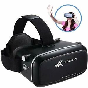 Virtual Reality Headset 3D VR Glasses by Voxkin - High Definition Optical Lens,