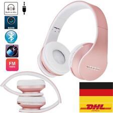 Bluetooth Kopfhörer Wireless Stereo Headset mit Microphone FM TF MP3 SD Faltbare