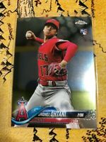 2018 TOPPS CHROME UPDATE SHOHEI OHTANI HMT1 ROOKIE CARD RC QTY Available