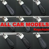 Alloy Circle Car Logo Key Chain Water Drop Shape Keyring Auto Car KeyChain