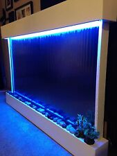 "WALL WATERFALL XXL 52""x35"" Mirror Backgr , Color Lights, Remote Ctrl SALE"