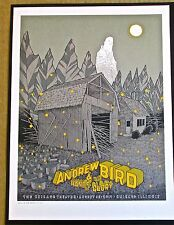 Andrew Bird Mini-Concert Poster Reprint for 2014  Chicago IL Concert 14x10
