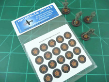 Axis & Allies Parts/Pieces Russian Infantry Base Roundel Waterslide Decals