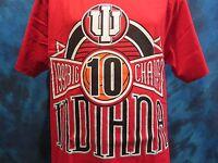 vtg 1993 INDIANA UNIVERSITY HOOSIERS BASKETBALL LOGO 7 T-Shirt LARGE soft 90s