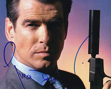 Pierce Brosnan ++ Autogramm  ++ James Bond ++ GoldenEye ++ Der Ghostwriter