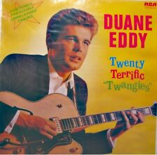 DUANE EDDY twenty terrific twangies LP 1980 RCA guitar man/the feud RARE VG++