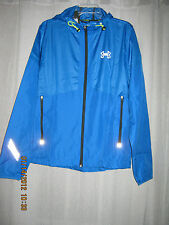 NWT Mens Under Armour Polyester Doublure Solid Blues Polyester Running Jacket M