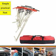 PDR Rods Ding kit Auto Body Dent Repair PDR Tools Hail Removal Red bag A B C