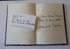 FRANçOISE MAIREY VICTOR LAKANNE RECUEIL MANUSCRIT pour ALAIN TRUTAT 1989