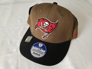 Vintage Reebok Tampa Bay Buccaneers Hat Fitted 7 5/8 NWT DAMAGED