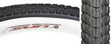 26 x 2.125 Sun Cruiser Balloon Bike Bicycle 2 Tires Tubes Rim Lnr White Wall Set